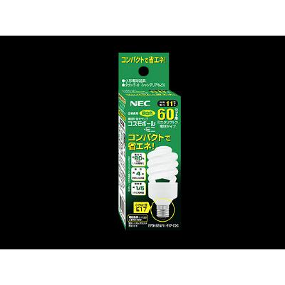 コスモボール・ミニ EFD15EN/11-E17-C3C 1箱(10個入) NECライティング