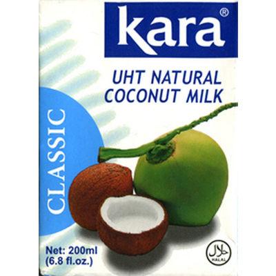 カラ  ココナッツミルク UHT 3個
