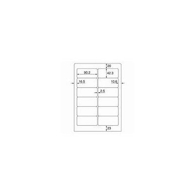 プラス ワープロ用タックラベル WT-501 (直送品)