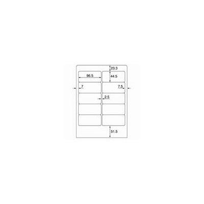 プラス ワープロ用タックラベル WT-502 (直送品)