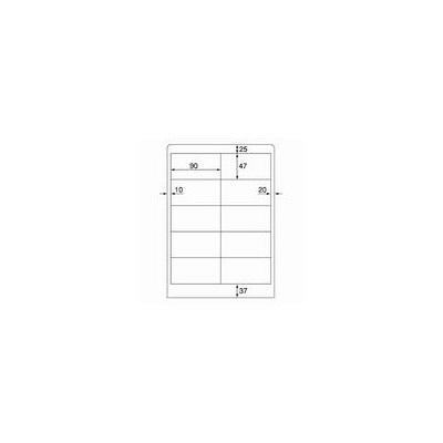 プラス ワープロ用タックラベル WT-504 (取寄品)