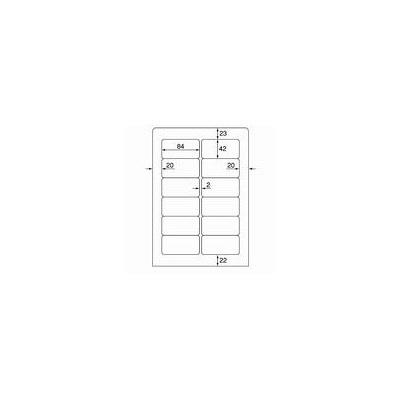 プラス ワープロ用タックラベル WT-505 (直送品)