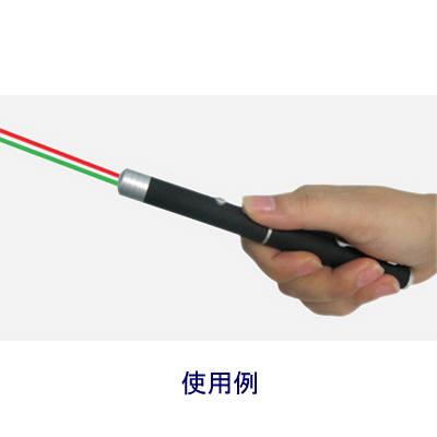 オーロラ 2色(赤/緑)対応レーザー×2