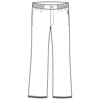 フォーク メンズパンツ 5016EW ホワイト M (取寄品)