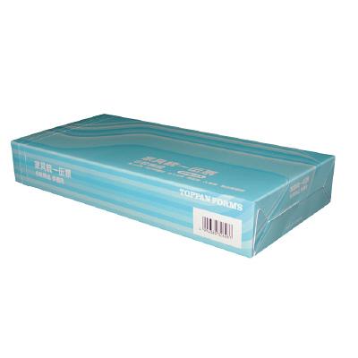 家具統一伝票 手書用6P 10-1/2インチ×5インチ-6P KG-A6S トッパンフォームズ (取寄品)