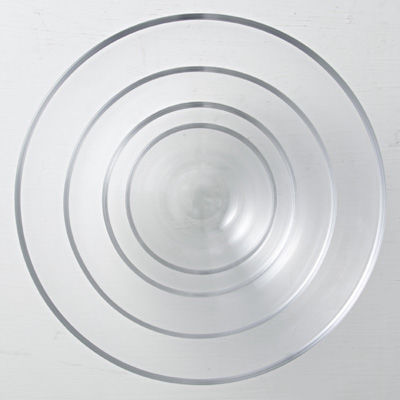 ガラス豆鉢 約直径9.5cm