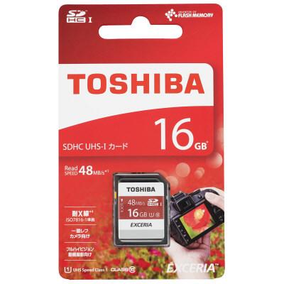 東芝 SDXC/SDHC 16GB
