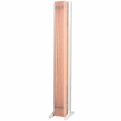 三和製作所 折畳スクリーン 高さ1650mm ピンク (直送品)