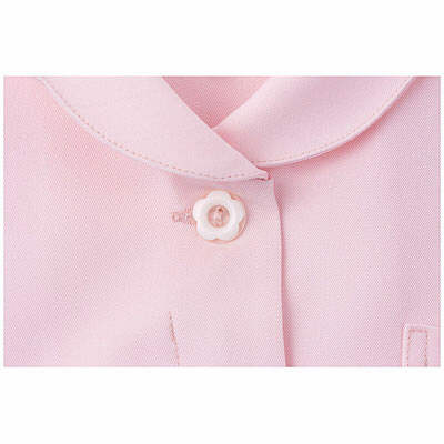 アイトス 花形ボタンワンピース(ナースワンピース) 861336-060 ピンク 6L (直送品)