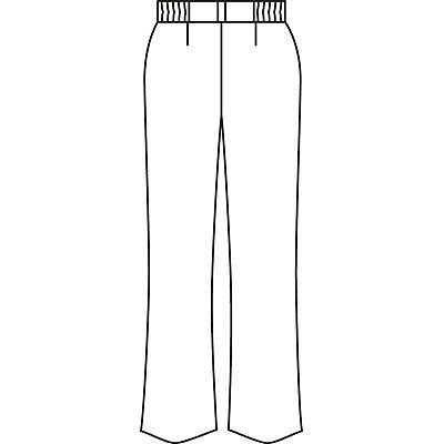 AITOZ(アイトス) ナースパンツ(ブーツカット) 女性用 ホワイト 4L 861354-001 (直送品)
