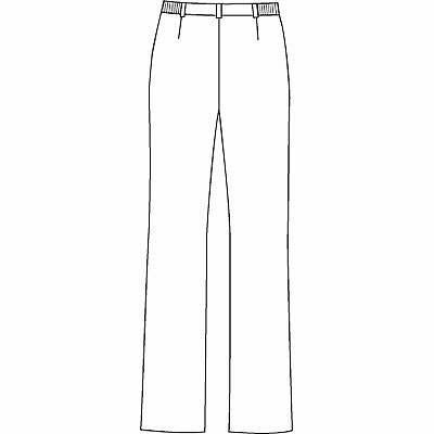 AITOZ(アイトス) ナースパンツ(ブーツカット) 女性用 サックスブルー 5L 861354-007 (直送品)