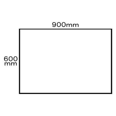 アール・エフ・ヤマカワ エントランスマット 900×600 ブラウン