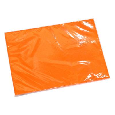 タカ印 ケイコーカード B5判 橙 14-3574 1箱(10枚入×5冊) (取寄品)