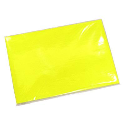 タカ印 ケイコーカード B5判 レモン 14-3575 1箱(10枚入×5冊) (取寄品)