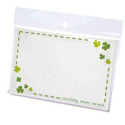 タカ印 カード クローバー はがき判 16-1701 1箱(30枚入×5冊) (取寄品)