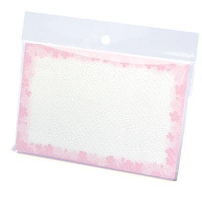 タカ印 カード 花枠 はがき判 16-1711 1箱(30枚入×5冊) (取寄品)