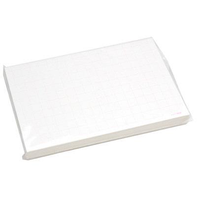 タカ印 ショーカード 特大 アミ目入無字 17-5608 1箱(50枚入×5冊) (取寄品)