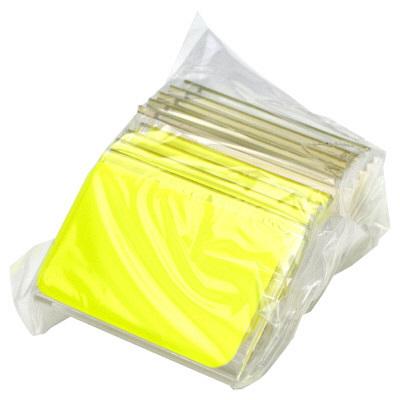 タカ印 カード立 L型 アクリル・トーメイ 34-3011 1箱(10個袋入×2袋) (取寄品)