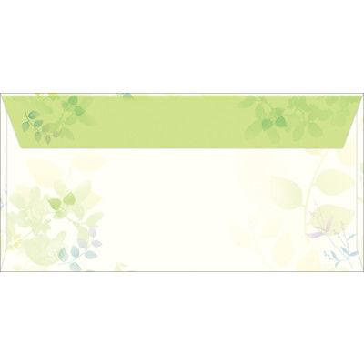 タカ印 商品券袋 横封式 グリーンズ 9-375 1箱(100枚入) (取寄品)
