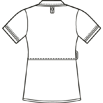 アイトス 医療白衣 ナースジャケット アシンメトリーカラーチュニック 861115 ピンク LL