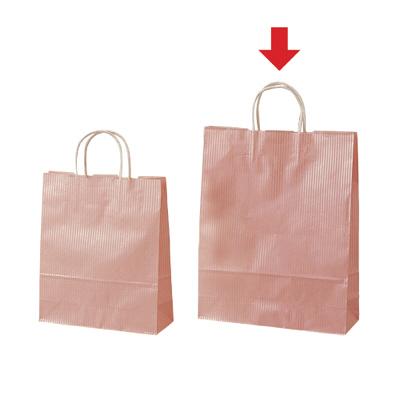 タカ印 手提げバッグ 10PクリスタルP大 50-6303 1袋(10枚入り) (取寄品)