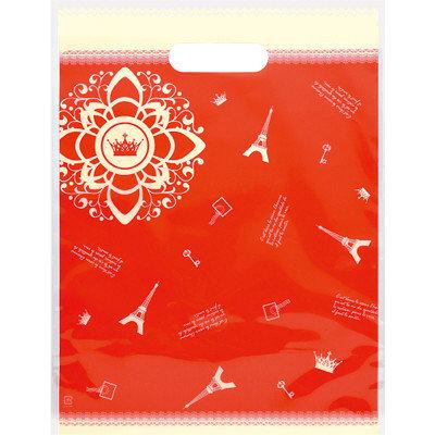 タカ印 デコラパック パリ・大 レッド 35-4065 1袋(20枚入り) (取寄品)