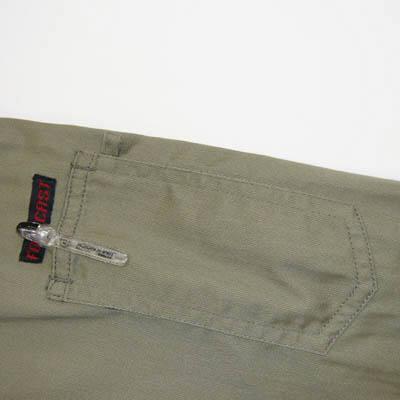 カジメイク スーパーソルジャーシャツ モカG LL 6682 (取寄品)