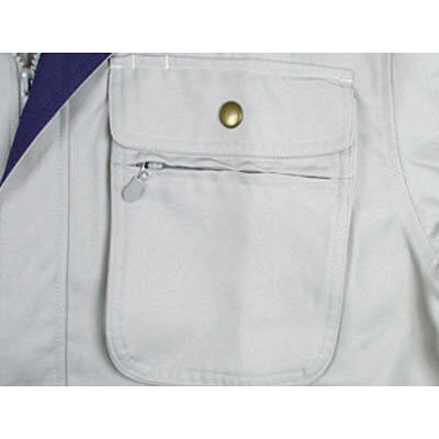 カジメイク ポリジャケット アイボリー LL 8107 (取寄品)