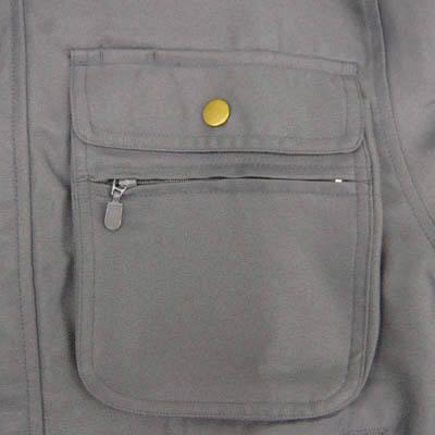 カジメイク ポリジャケット ネイビー LL 8107 (取寄品)