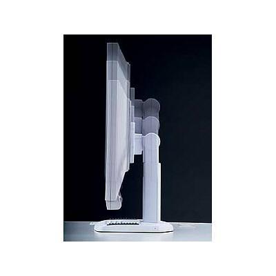 サンワサプライ 昇降液晶モニタスタンド(パールホワイト) 1面用 CR-27W (取寄品)