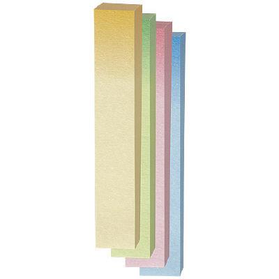 ポスト・イット(R)ふせん/見出し 100%再生紙シリーズ 75×12.5mm グラデーション 560RP-GK 3パック(12冊入) (直送品)