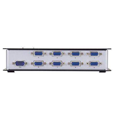 エレコム D-sub対応ディスプレイ分配器 8台切替 VSP-A8 (取寄品)