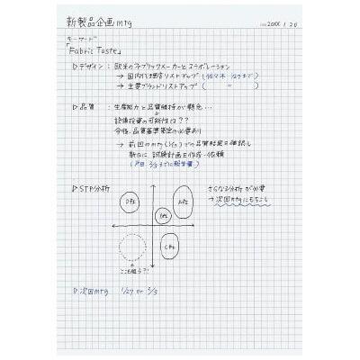 キャンパスノート 5mm方眼罫 A4