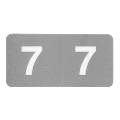 フィリオ ナンバーラベル カラー 「7」 MS-NRK7 1パック(150片入)