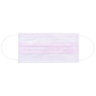 3層式プリーツマスク ピンク 150枚