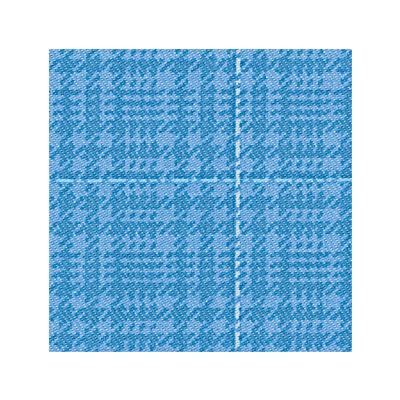 介護つなぎ服(背開き)ブルー LL 403420-10 フットマーク (取寄品)