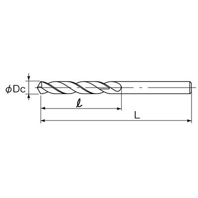 不二越 NACHI ハイス ストレートシャンクドリル φ9.0mm 1セット(10本:5本入x2)
