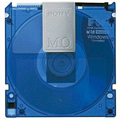 ソニー 3.5型MOディスク 640MB