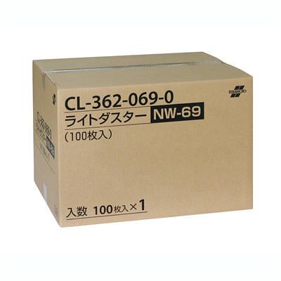 テラモト ライトダスターNW 69cm モップ幅60cm用 CL-362-069-0 1箱(100枚入) (直送品)