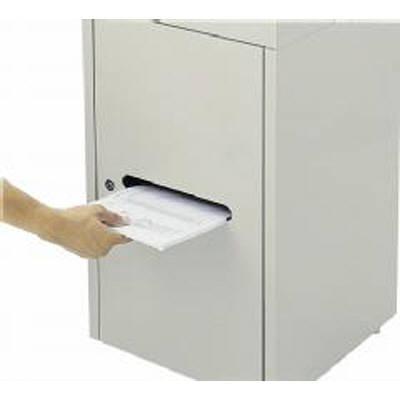 山崎産業 機密文書用回収ボックス A3 YW-170L-ID (直送品)