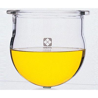 柴田科学 セパラブルフラスコ丸形(平面摺合タイプ) 5000mL φ225mm 1個 1-7803-06 (直送品)