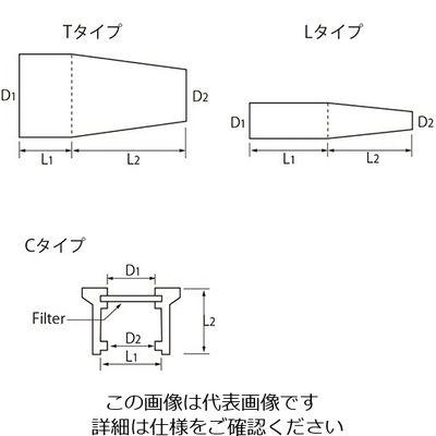 アズワン シリコセン(R) 32mm 10個入 1箱(10個) 6-343-08 (直送品)