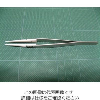 アズワン セラミックチップピンセット 71MZ 1本 6-7909-11 (直送品)