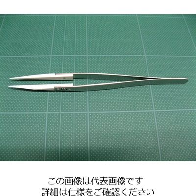 アズワン セラミックチップピンセット 73MZ 1本 6-7909-13 (直送品)