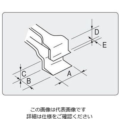 アズワン フラットピンセット No.48WF 幅広 特殊鋼 1本 7-160-14 (直送品)