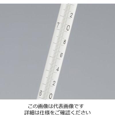 日本計量器工業 試薬試験用温度計(日本薬局方温度計) No.1 ー17~50℃ 1本 1-9775-01 (直送品)