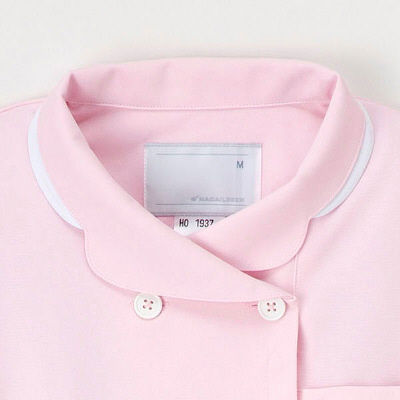 ナースワンピース ピンク S