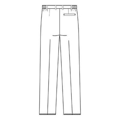 フォーク 男子パンツ 5010CR-1 ホワイト BL