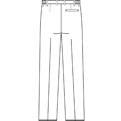フォーク 男子パンツ 5010CR-7 ネイビー M