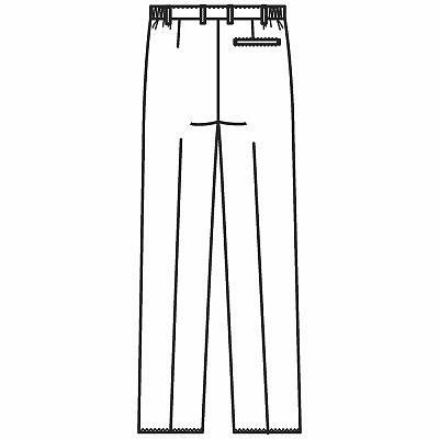 フォーク メンズパンツ サックス 4L 1915-2 1枚 (直送品)